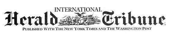 Logoja e gazetës Intarnational Herald Tribune