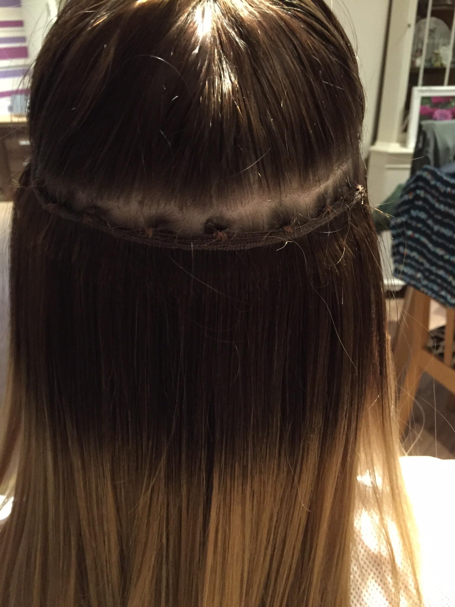 Hair Extensions DIY Mollcoco