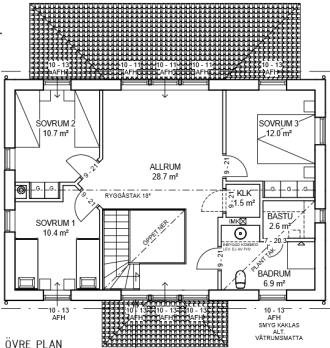 uppe floor plan