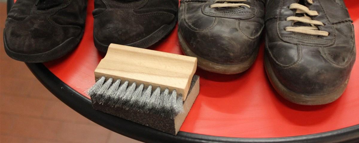 технология химчистки обуви