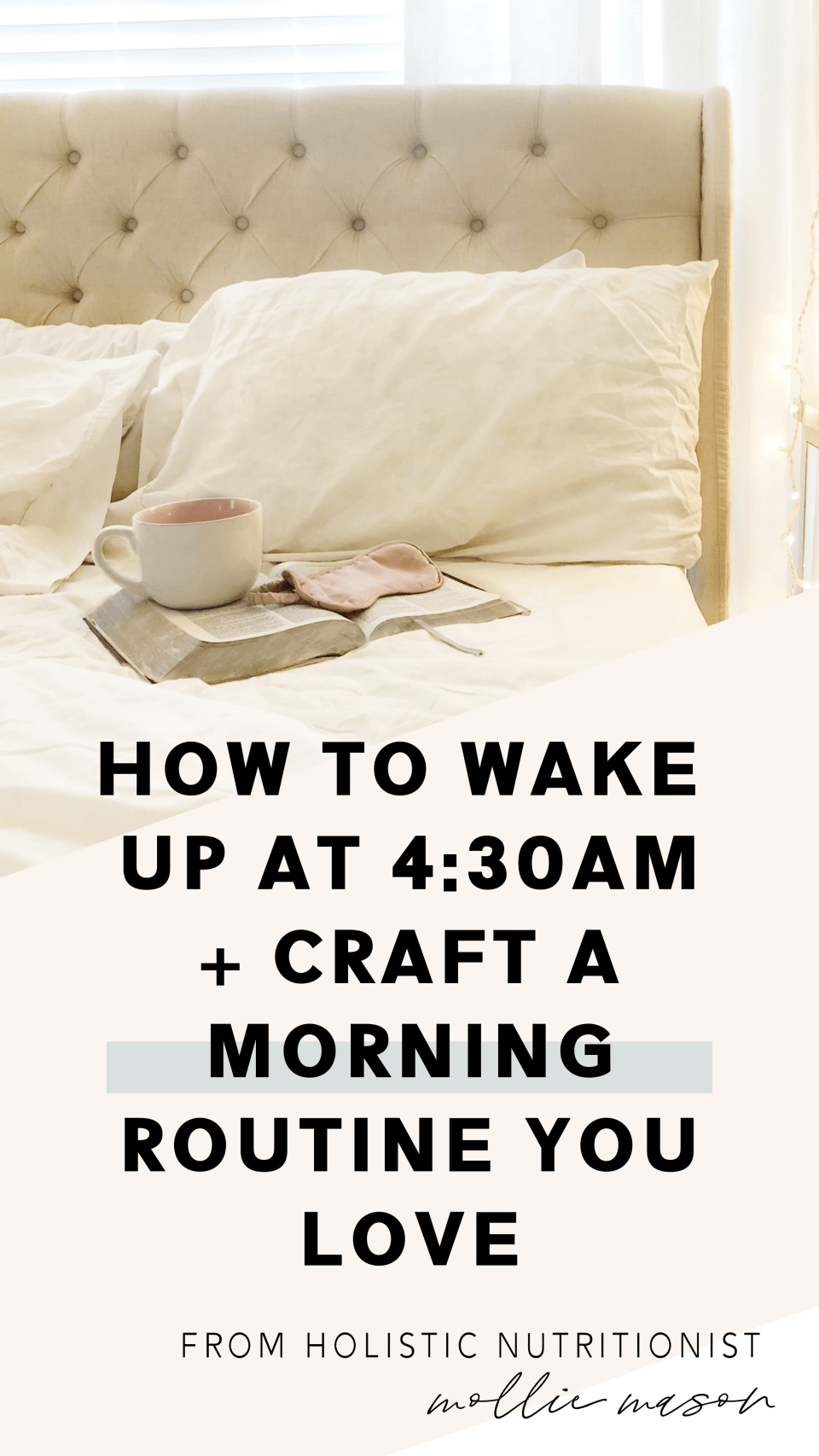 how to wake up earlier and create an effective and healthy morning routine | tips for making early mornings easier and for using mornings more effectively | morning routine | healthy sleep habits