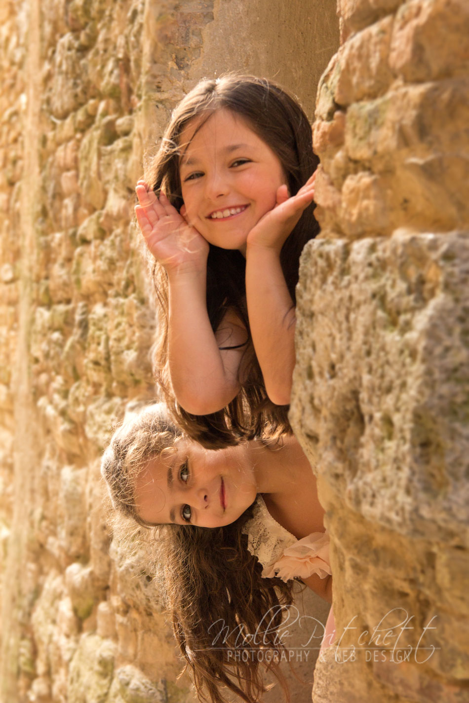 Family Photoshoot in San Gimignano, Italy