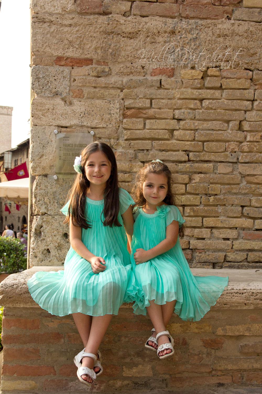 Family Photoshoot in San Gimignano, Italy
