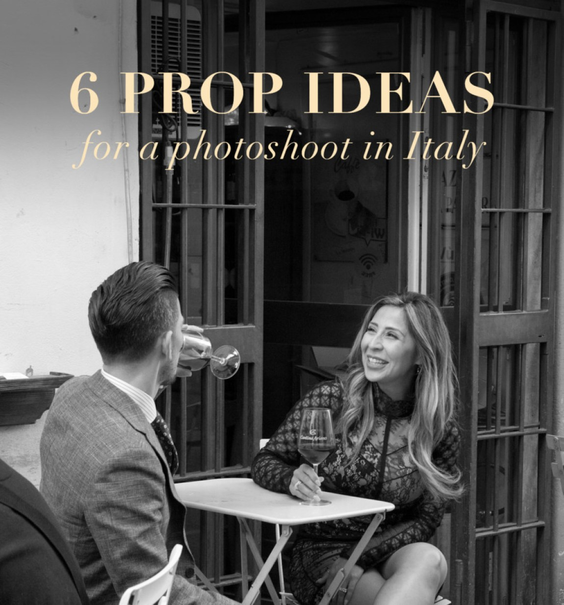 6 Prop Ideas for a photoshoot in Italy