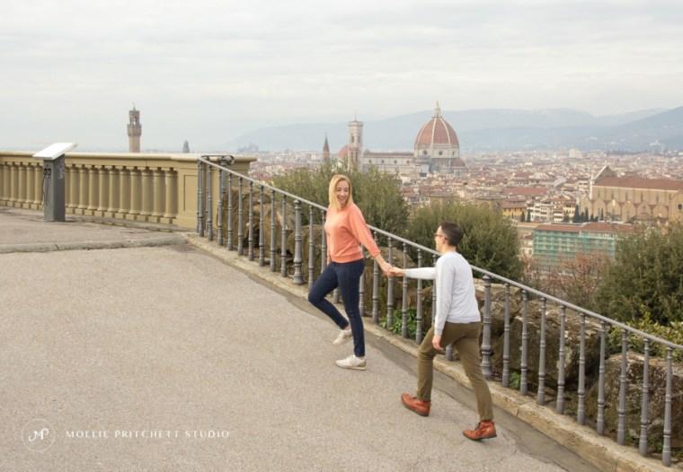 Destination Couples Portrait Photoshoot in Florence, Italy - Mollie Pritchett Studio