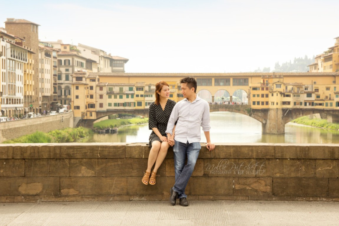 Honeymoon photography Florence, Italy