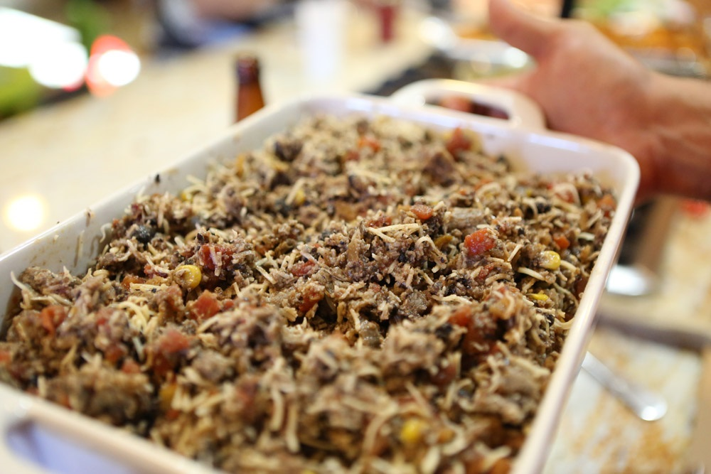 Incredible Tamale stuffing