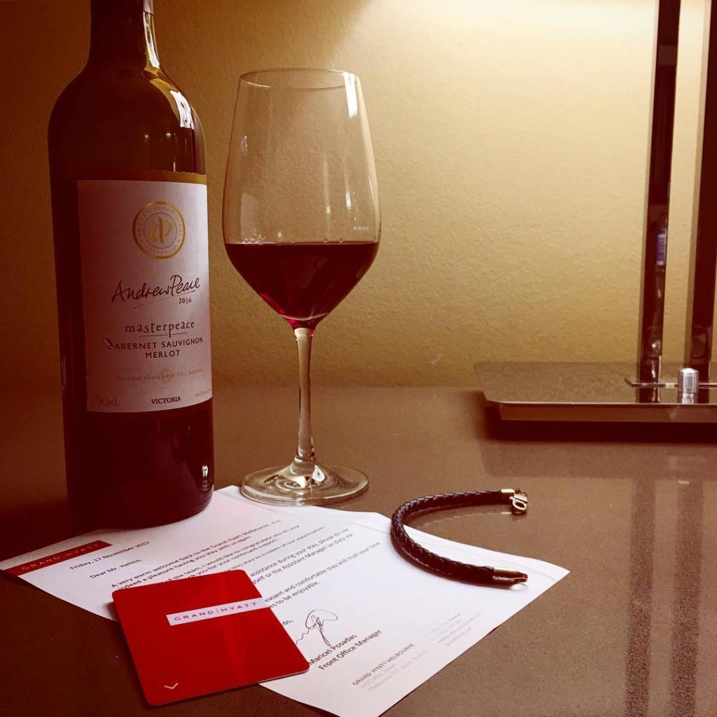 Thanks grandhyattmelbourne for the beautiful bottle of wine! Im gonnahellip