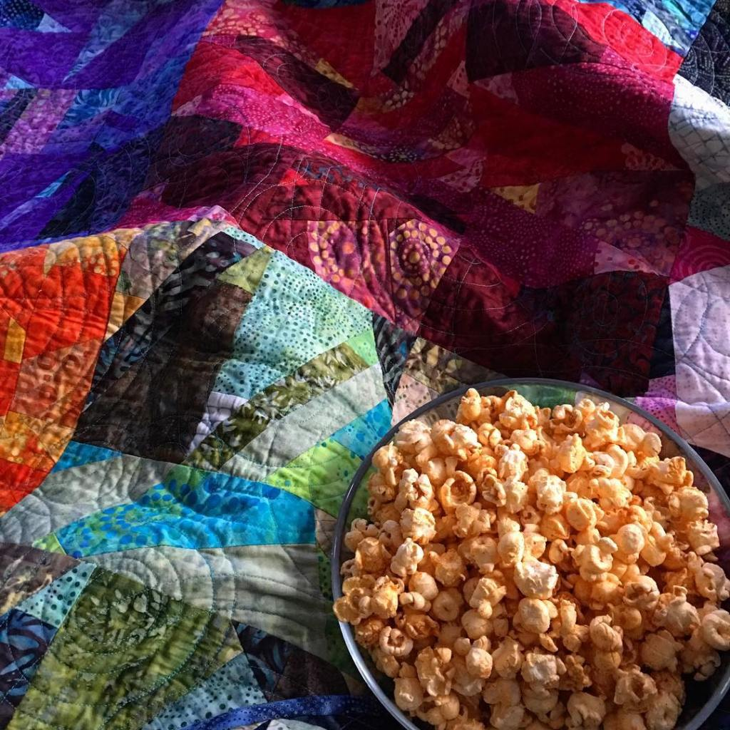 Popcorn on quilts