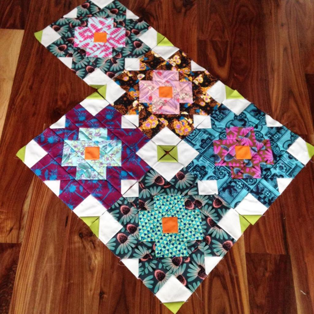 This sexy little number is now a finished quilt tophellip
