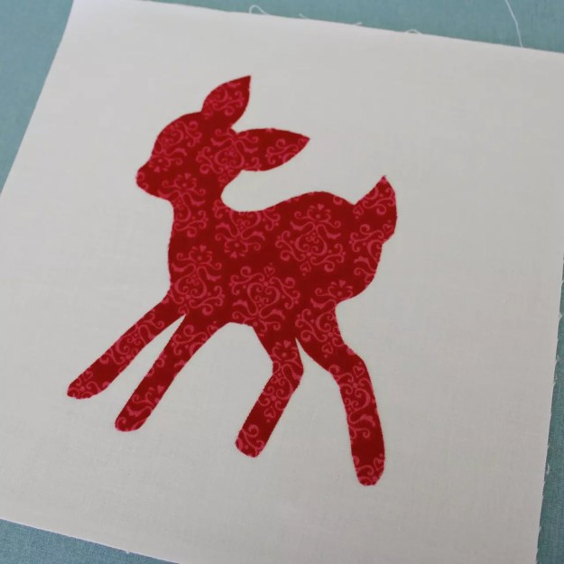 DEER APPLIQUE11