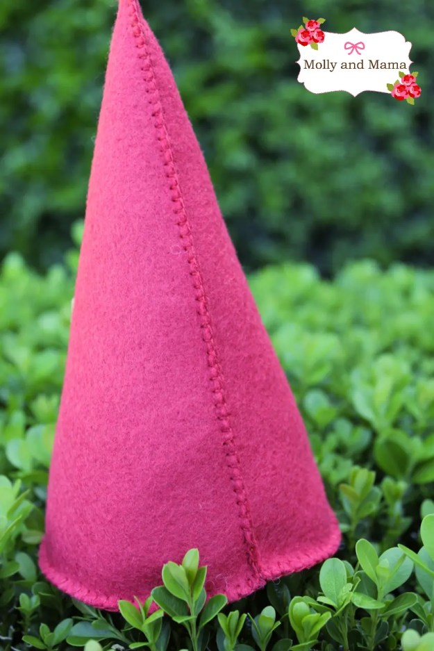 Back view of Gladwyn Gnome by Molly and Mama