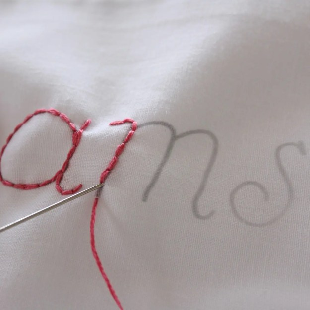 Embroider a Pillowcase with Molly and Mama09