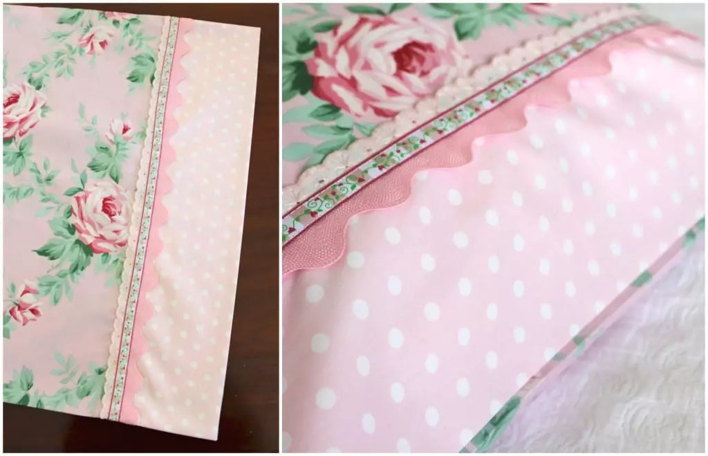 Molly and Mama - Girly Pillowcase Tutorial