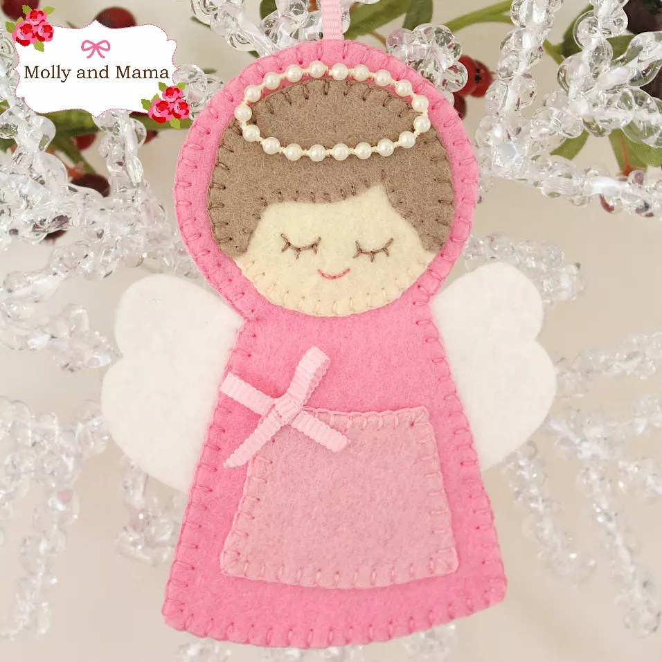 Sew a Christmas Angel with Molly and Mama
