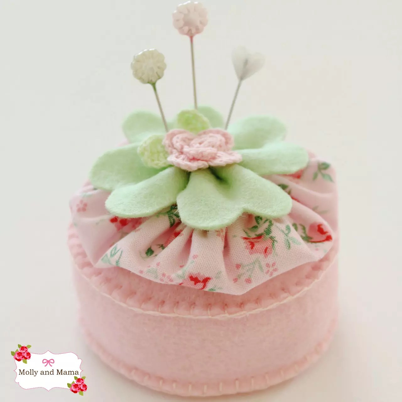 Pastel Lucky Pin Cushion