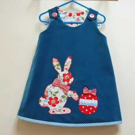Easter dress from Felicity Sewing Patterns