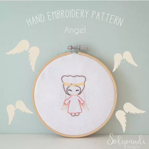 Solipandi Shop Singing Angel pattern