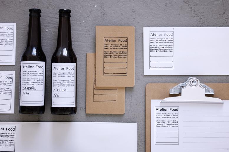 Atelier Food Identidade Gráfica