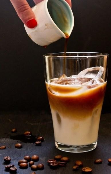 Café com Leite e Gelo