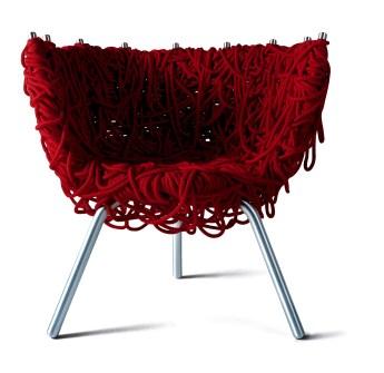 Red chair Campana
