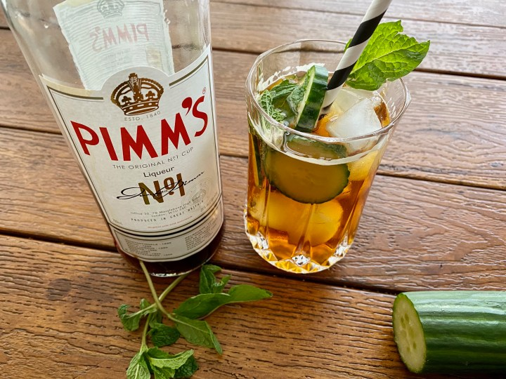 Spicy Pimm's Cup Recipe