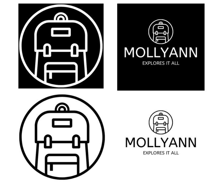 Black and White Logo | Intentional Design
