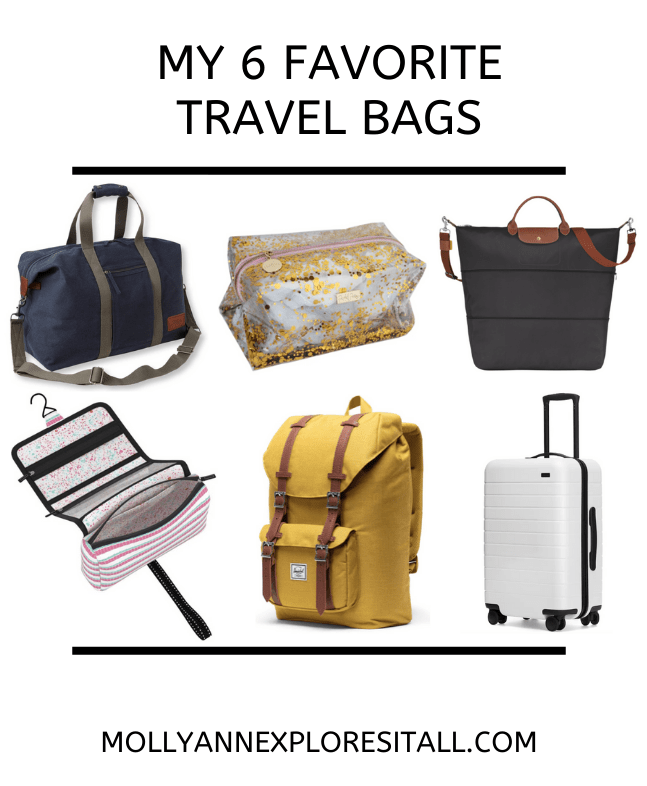 The 6 Best Travel Bags