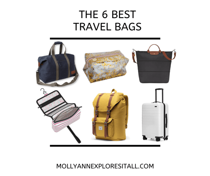 photo of the best travel bags