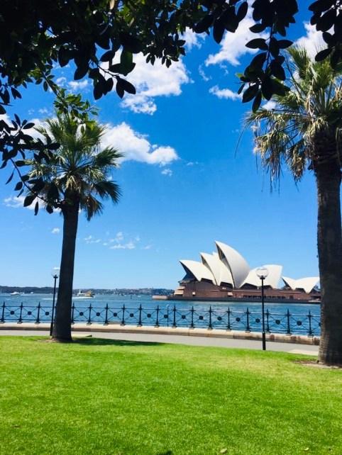 photo of the Sydney Opera House