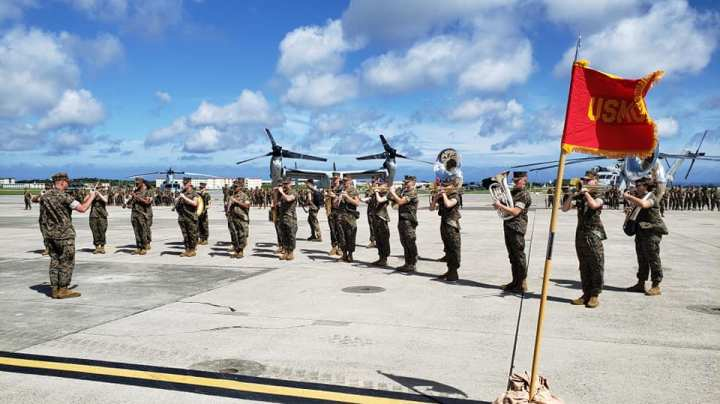 MAG-36 Change of Command
