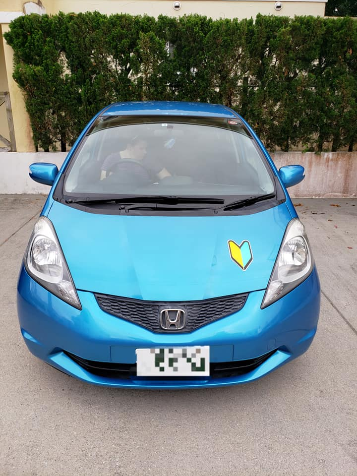 a photo of a Japanese Honda Fit
