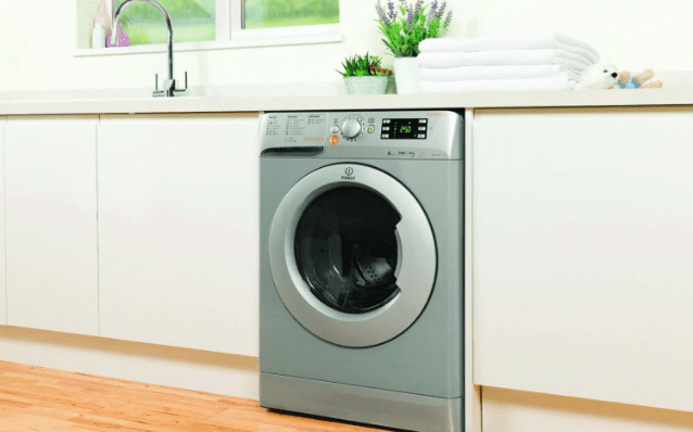 photo of a washer dryer