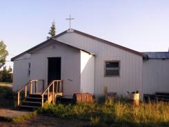 the local Moravian church