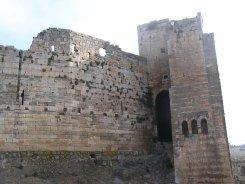 Knight Castle -- a very sturdy wall