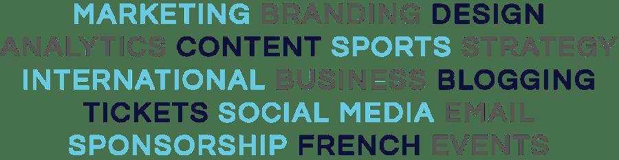 services, marketing, sports marketing, branding, strategy, sponsorship, sports