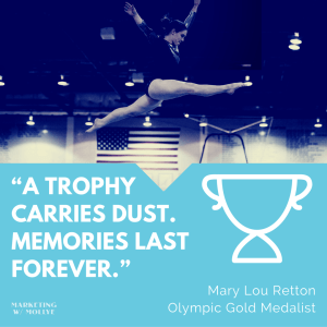 Mary Lou Retton - Trophy