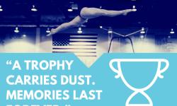 Mary Lou Retton - Trophy