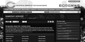Chicago Bears Fan Services