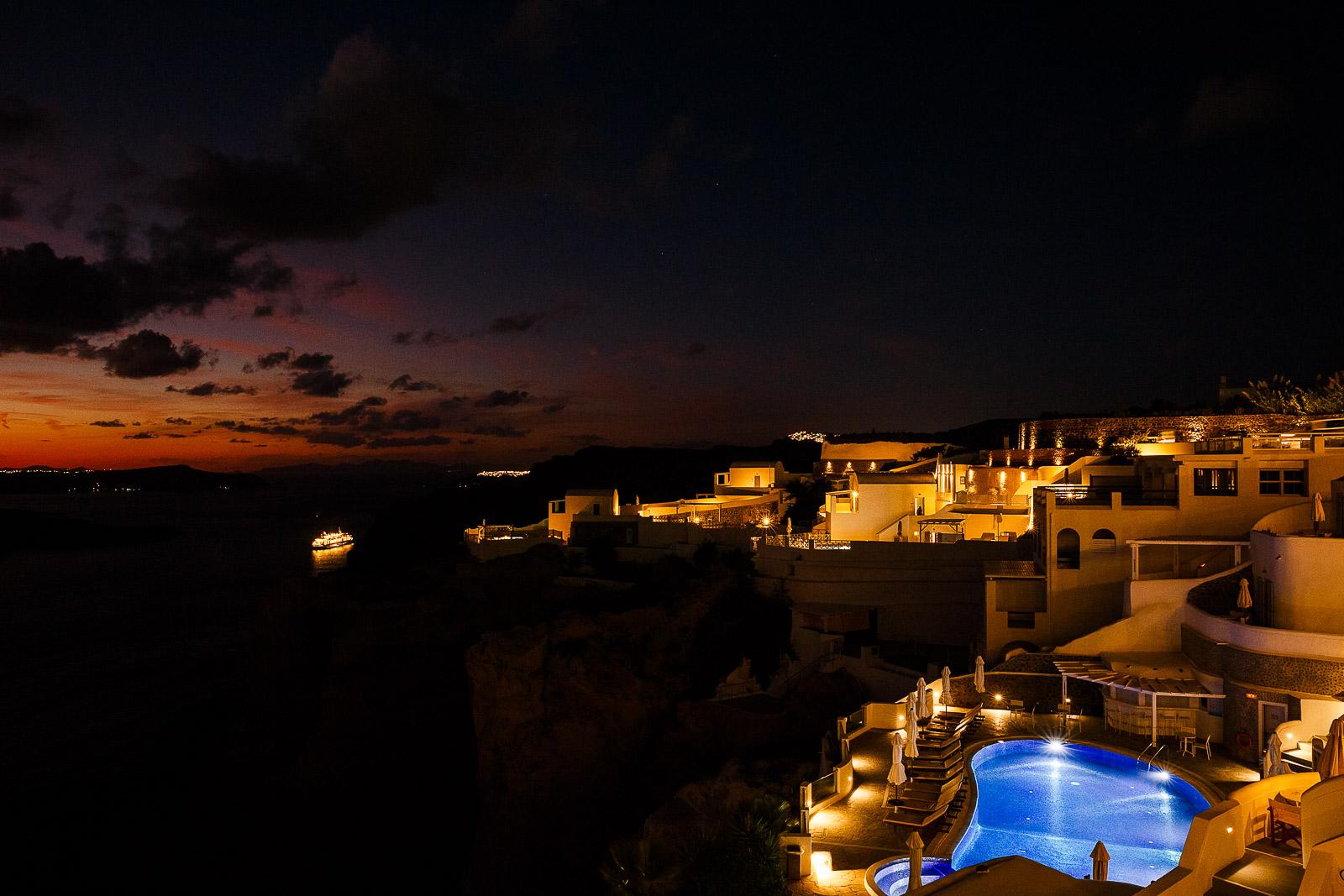 Volcano View Thira Santorini Greece
