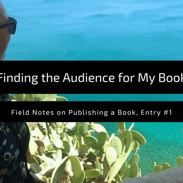 """Featured Image for the blog post, """"Finding the audience for my book"""""""