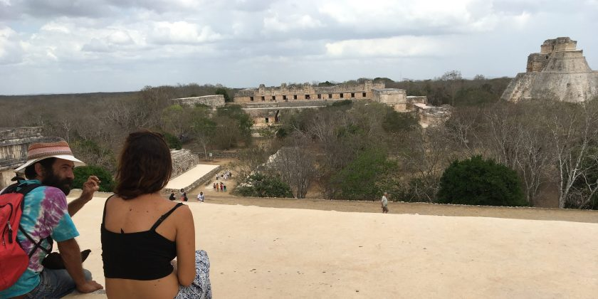 Uxmal in Yucatan Mexico
