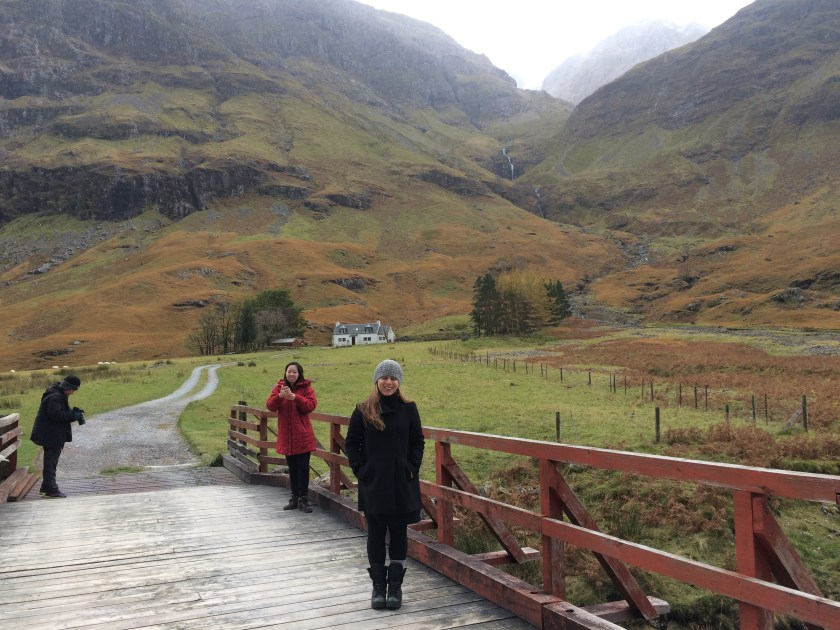 The highlands in scotland