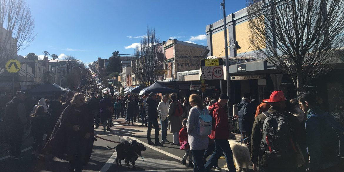 the winter festival in katoomba australia