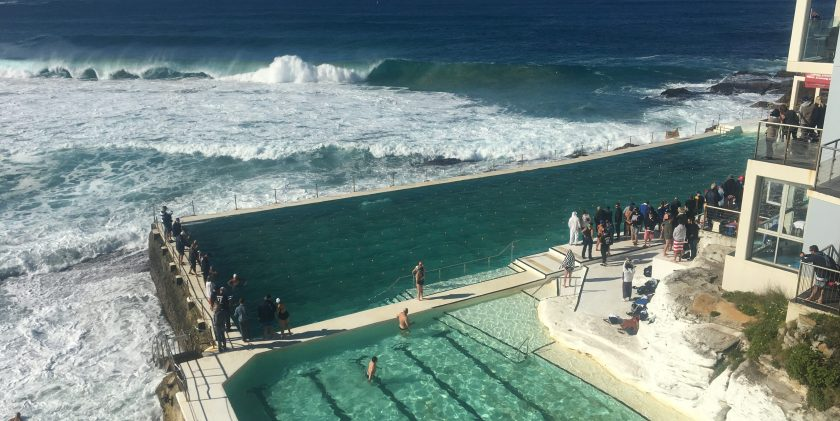 iceberg pool at bondi beach australia