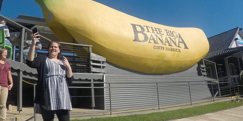the big banana outside coffs harbour