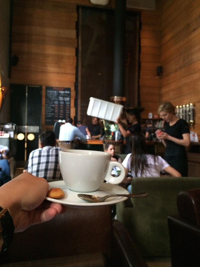 Most cafes in Sao Paulo had in-house coffee roasting