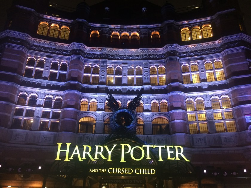 Harry Potter and the Cursed Child, Parts 1 and 2, at the Palace Theatre in london england