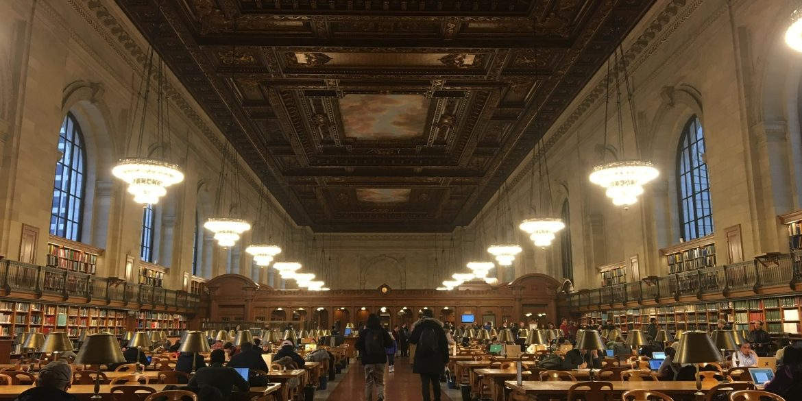 the rose reading room in the new york public library