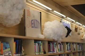 cloud library display